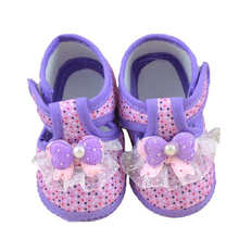 Baby Shoes Baby Bowknot  Boots Soft Crib Shoes Bowknot Anti-slip Safe Soft with Free Shipping High Quality AP25