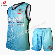 custom personalized basketball uniforms sale custom printed basketballs sublimation print colorful pattern basketball jersey(China)