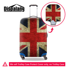 Dispalang travel on road anti-dust luggage cover top quality national flag series durable stretch baggage protect covers for men