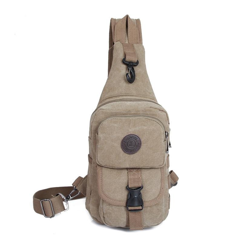 2017 Vintage Casual Men Messenger Bags Men Women Travel Shoulder Bag Casual Crossbody Bag Chest Back Pack Canvas Male Small Bags<br><br>Aliexpress