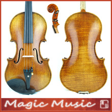 Master Level! 18 Years Old European Spruce! Stradivarius Lord Wilton Top Violin Size 1/2 #1728, Handmade Oil Varnish