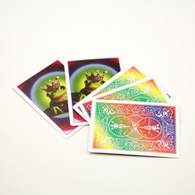 20pcs/lot Frog to Prince Magic trick card magic sets  props as seen on tv Wholesale  Free shipping 81052