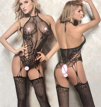 Sexy Lingerie Hot Sexy Body Stocking Plus Size Bodysuits Women Lenceria Mujer Sexi Babydoll Underwear Sexy Costumes Body qq316(China)
