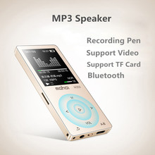 8G Hifi MP3 Player Touch Screen Wireless Bluetooth MP3 Player AAC/WAV/FLAC/OGG/MP3/APE Decoder Video TF Card Record MP3 Speaker(China)