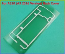 20pcs/Lot Original Housing Sticker Rear Back Cover case Door Adhesive For Samsung Galaxy A310 ( A3 2016 Version ) Tape Glue