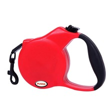Retractable Dog Leashes Heavy Duty Belt Leash Dog Lead with Ergonomic Hand Grip for Dog(China)