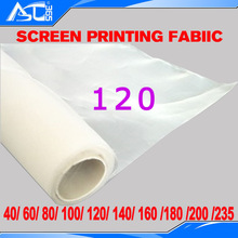 1 Yard screen mesh screen printing frame white width 1.65 meter DPP 120 mesh count(48T) fabric screen printing material