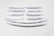 For Mazda 6 M6 Atenza  2017 10 pcs  ABS  Matte Front  Grill Grille Cover Trim