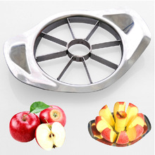 Hot sale Stainless Steel Vegetable Fruit Apple Pear Cutter Slicer Processing Kitchen Utensil Tool 1PCS Free Shipping