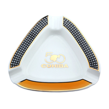 COHIBA Ashtray 50th Anniversary Ceramic Cigarette Cigar Ashtray Holder(China)