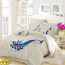 Bed Sheets Cotton The Southeast Asia Peacock Bedding Set Comforter Bedding  Sets Drop Shipping A7(