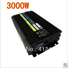 single phase pure sine 48v to 100v 110v 120v 220v 230v 240v dc to ac power onduleur 3000w