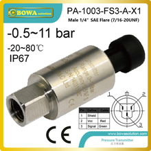 Pressure transmitter designed for use in almost all industrial applications, and offers a reliable pressure measurement