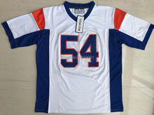 Viva Villa Stitched Blue Mountain State #7 Alex Moran 54 Thad Castle American Football Jersey Blue White S-3XL Free Shipping