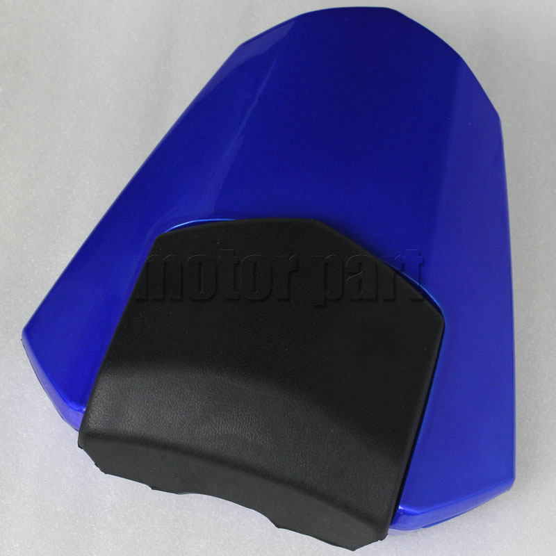 For 2008-2015 Yamaha YZF R6 Motorcycle Rear Passenger Seat Cover Cowl 08 09 10 11 12 13 14 15 Blue<br>