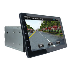 10.1 inch HD 1024*600 Quad Core Universal Android 5.1.1 Car DVD Player Stereo Radio GPS Navigation WIFI 3G DVR OBD Mirror Link