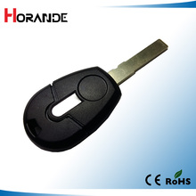 New style transponder key blank for Fiat car key cover key shell Brava Panda Punto key blank