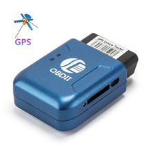 Top Quality GPS TK206 OBD 2 Real Time GSM Quad Band Anti-theft Vibration Alarm GSM GPRS Mini GPRS Car Tracker Tracking OBD II
