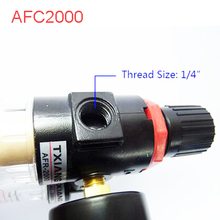 "Buy High Quality AFC2000 Air Filter Regulator Combination AFC2000 Lubricator Combinations, 1/4"" Port FRL Union Air Treatment"