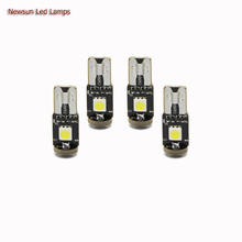 Best Quality  Car LED Light With Canbus T10 5050 Auto Fog Lamp 3 Smd 5050 Automotive Side Maker Lamp White/Red/Yellow/Green/Blue