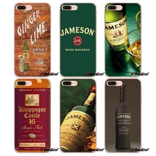 Jameson Irish Whiskey limited edition Case For iPhone X 4 4S 5 5S 5C SE 6 6S 7 8 Plus Samsung Galaxy J1 J3 J5 J7 A3 A5 2016 2017(China)