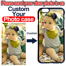 DIY Custom Your Photo Picture Logo Case Cover for LG G2 G3 G4 G5 G6 iPhone 4 4S 5 5S SE 5C 6 6S 7 8 Plus X iPod 5(China)