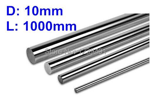 4pcs dia 10mm - 1000mm  Linear Rail Round Rod Shaft Linear Motion Shaft<br><br>Aliexpress