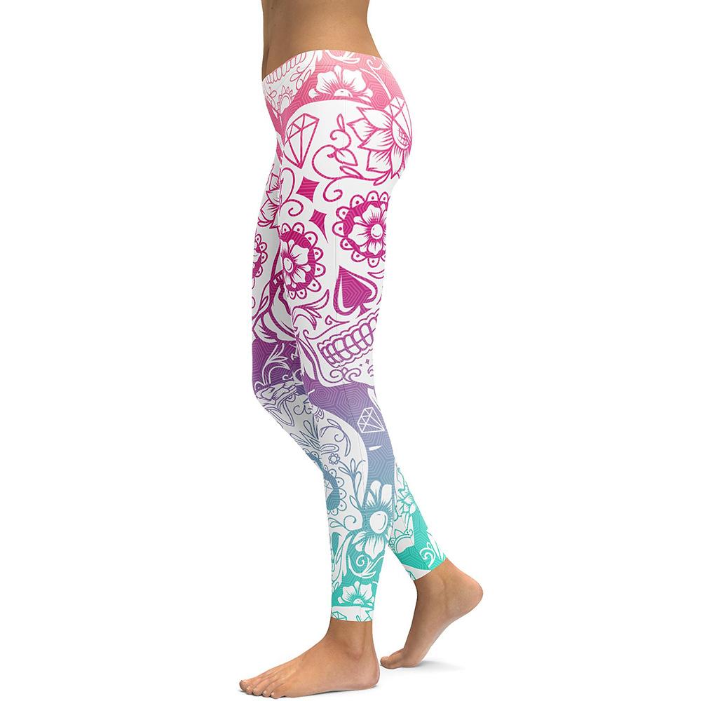 Plus Size Patterned Leggings Simple Design Ideas