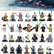 Single Star Wars Rogue One Jawa luke skywalker Kylo Ren BB-8 Secura Building Block Models legoing Starwars Toys For Children