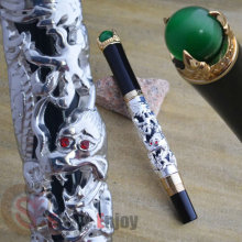 JINHAO SILVER DRAGON KING PLAY PEARL ROLLER BALL PEN OVERLORD