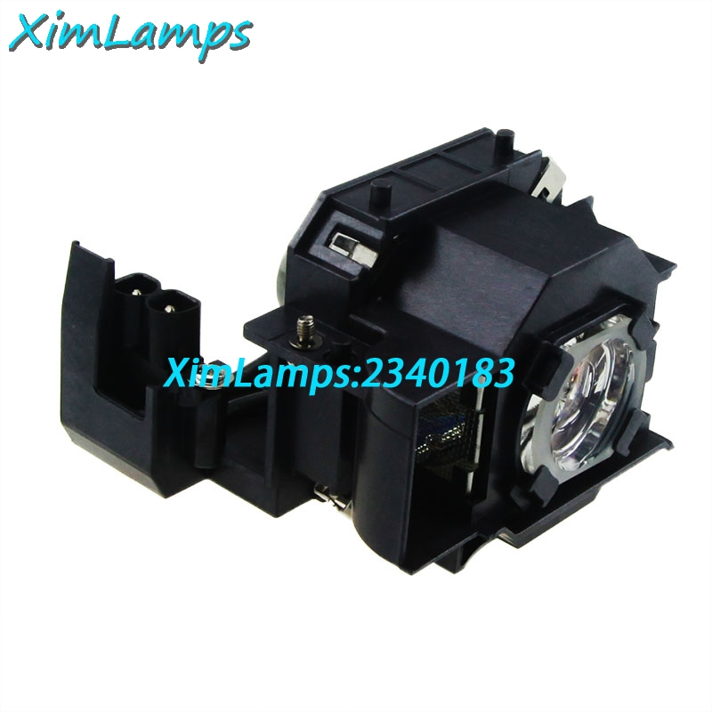 ELPLP33 Replacement Lamp with housing for Epson EMP S3 / EMP S3L / EMP TWD3 / Moviemate 25 / Moviemate 30S / Moviemate 30S Plus<br>
