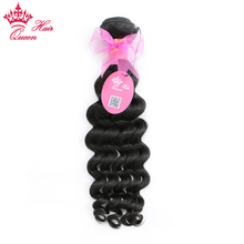 Queen Hair Products Brazilian Natural Wave Hair Bundles Natural Color 1B 100% Human Hair Extensions Remy Weave Free Shipping(China)