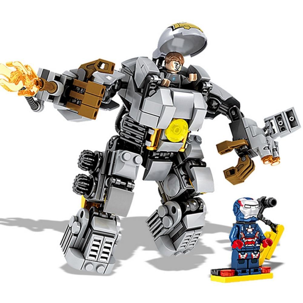 MK1 Super Heroes Avengers Iron Man MARK 1 Building Blocks Bricks Toys For Children Compatible Lepin<br><br>Aliexpress