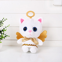 20cm Anime Toy Story Angel Cat Stuffed Plush Toys Kitty Cat Plush Toy Doll Soft Animals Toys for Kids Children Christmas Gifts(China)