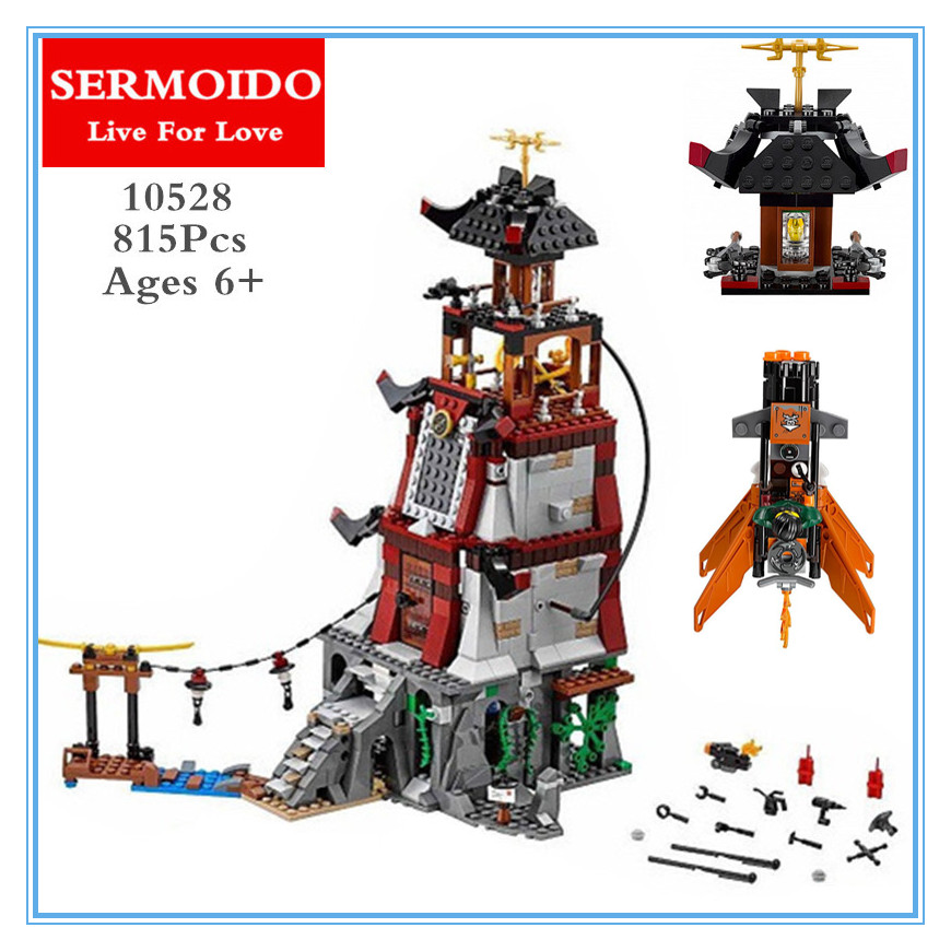 SERMOIDO 06037 Compatible With Ninja The Lighthouse Siege Lepine 70594 Building Bricks Ninja Figure Toys For Children B303<br>