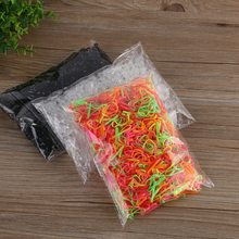 About 1000pcs/pack (small package) 2017 New Child Baby TPU Hair Holders Rubber Bands Elastics Women Girl's Tie Gum