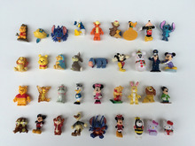 100pcs/lot pvc cartoon figures several styles random mixed hot selling anime
