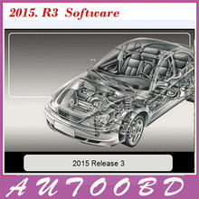 2015.R3 software CD/DVD +Keygen Activator for TCS CDP+ Pro Plus New Vci ( 2015 Release3 software) for CDP Parts Car Accessories