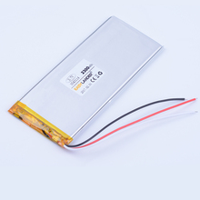 Buy 3543114 3-wire 3.7V 2300mAh Rechargeable li-Polymer Li-ion Battery power bank PDA Tablet PCs Digital Products Goophone 5.5 for $9.99 in AliExpress store