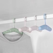 2017 Magic Creative Portable Adjustable Clothes Hanger Candy Color Universal Multifunctional Rack Home Travel  Clothes Hanger
