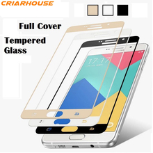 tempered glass For Samsung Galaxy A3 A5 A7 A9 2016 2017 J2 J5 J7 Prime J3 S6 S7 NOTE 4 5 C5 C7 C9 PRO screen protect film case