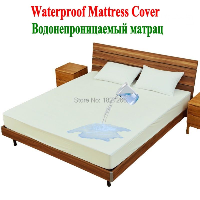 Terry Cloth Waterproof Mattress Cover_conew1