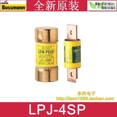 US Fuse BUSSMANN LOW-PEAK fuse LPJ-3SP LPJ-4SP 4A 600V<br>