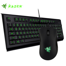 Razer Cynosa Pro Membrane Gaming Keyboard Backlit 104 Keys + Razer DeathAdder 1800DPI Black Edition Infrared Gaming Mouse