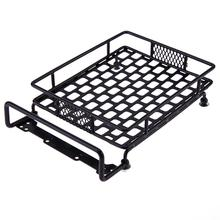 Metal Roof Luggage Rack for Axial SCX10 TAMIYA CC01 RC4WD D90 D110 TF2 RC Simulation Car Crawler Parts(China)