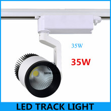 New year Wholesale 35W Single Head COB LED Track Spot Light Exclusive Shop, Jewelry Store, Showcase, Supermarket, Club, Museum
