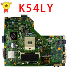 Free Shipping For ASUS motherboard K54LY USB3.0 1GB HM65 216-0809000 X54HR K54HR X54H x54hy laptop Mainboard work perfect
