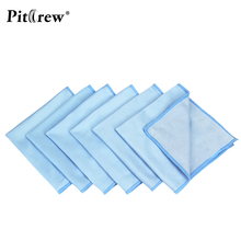 Car Cleaning 6pcs/Lot 30*30cm Microfiber Glass Cloth Detailing Towels Cloths Windshield Car Care Cloths Lint Free Wax Polishing(China)