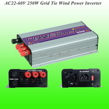 2017 Hot Selling 250W Three Phase AC22V~60V Input, AC 115V/230V Output SUN-250G-WAL Grid Tie Wind Power Inverter