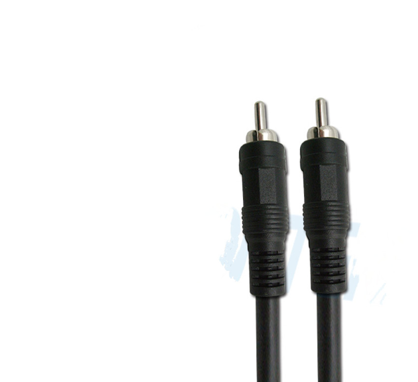 RCA to RCA Audio line Lotus and probability cable Signal lines Extension cord 1M 3.2ft(China)